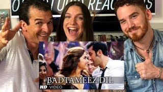 Badtameez Dil Song REACTION  | Ranbir Kapoor, Deepika Padukone