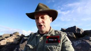 Metal detecting Minehead Beach (147)