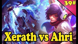 #39 Ahri Mid vs Xerath Full Gameplay - s7 League of Legends