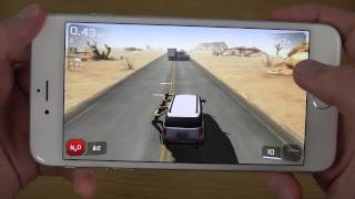 Zombie Highway 2 iPhone 6 Plus 4K Gameplay Review