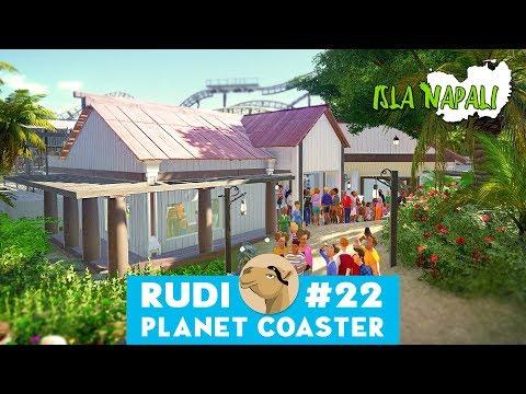 Isla Napali - Planet Coaster | Hyper Realistic Park & UGC | Beach Restaurant