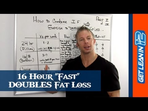 Fasting For Weight Loss Tips (The 16 Hour Fast) [Part 2]