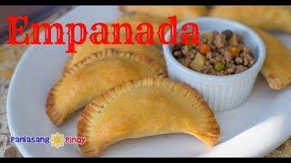 Pork Empanada | Filipino Empanada | Empanadang Baboy | Pinoy Ground Pork Enpanadas