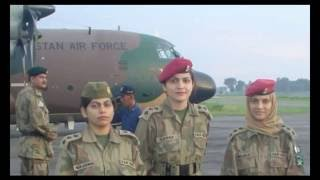 females in Pakistan armed forces by Irfan
