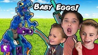 GIANT REX BONES Egg Adventure with the HobbyKids