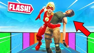 *FLASH* FUN DEATHRUN *NEW* Game Mode in Fortnite Battle Royale