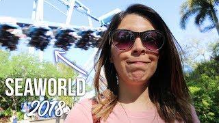 SEAWORLD 2018: los mejores juegos! | Ceci de Viaje