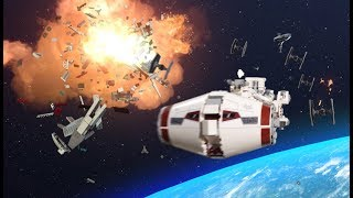 Escape from Scarif - LEGO STAR WARS - Stop-Motion Story