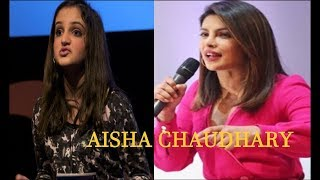 Aisha Chaudhary| Hindi | Priyanka Chopra's upcoming movie based on a motivational speaker