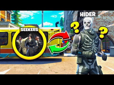 FORTNITE NEW REVERSE HIDE & SEEK HIDING in THE GOD SPOT Tilted Towers Battle Royale