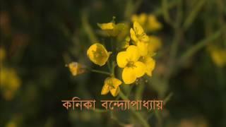 নীল দিগন্তে ওই ফুলের আগুন লাগল  -  কনিকা বন্দ্যোপাধ্যায়