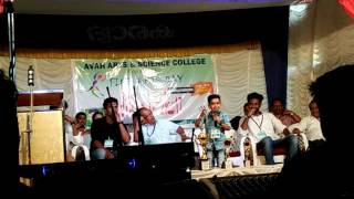 Sooraj thelakkad super comedy at avah arts and science collage