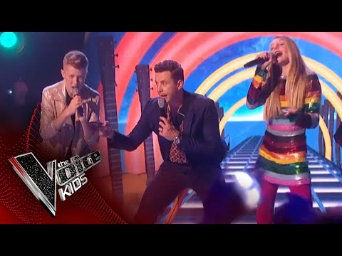 The Coaches and Finalists Perform 'Mr Blue Sky': The Final | The Voice Kids UK 2018