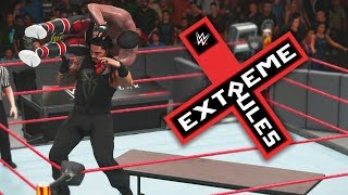 WWE 2K18 My Career Mode - Ep 73 - EXTREME RULES IC TITLE DEFENSE!!