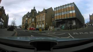 Driving around stirling scotland