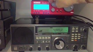 Elad FDM DUO vs Yaesu FRG-8800: weak signal comparison on 60 metres