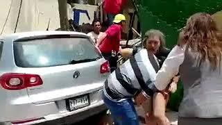 Momento del sismo en el Colegio Enrique Rébsamen