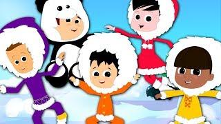 Five Little Eskimos | Nursery Rhymes Song For Kids | Children Rhymes