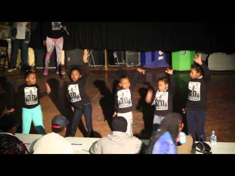 Lil 3d girls at Battle of the Sexes 2015
