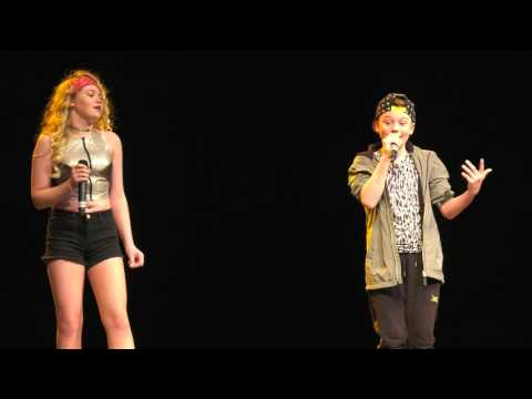 ROCKABYE - CLEAN BANDIT performed by SASHA AND DAVID at TeenStar Newcastle Regional Final mp3