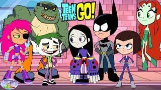Teen Titans Go! Color Swap Transforms Raven Batman Joker Surprise Egg and Toy Collector SETC