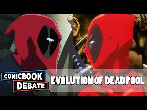 Xxx Mp4 Evolution Of Deadpool In Cartoons In 3 Minutes 2017 3gp Sex