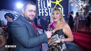 أغاني أغاني ترصد النجوم في مهرجان الجونة السينمائي وتلتقي عادل امام وهذا ما فعلته مايا دياب!