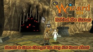 Wizard101 Behind the Scenes - Secrets and Game Changes You May Not Know About