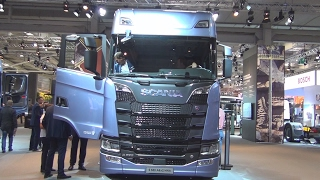 Scania S 580 A6x2/4NA Tractor Truck (2017) Exterior and Interior in 3D