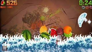 Fruit Ninja iPhone Gameplay #10