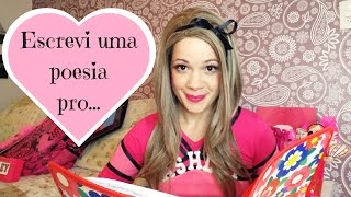 ESCREVI UMA POESIA DE AMOR by Ashley  #monday´sextravideos