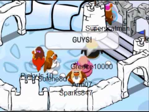 Club Penguin Random Stoofz Episode 1: Lesbian Girl Party