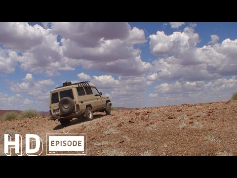 Namibia, Hoanib Dry River Drive, Part 1, Episode 103
