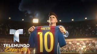 Increible anuncio que cuenta la historia de Lionel Messi | Copa Mundial FIFA Rusia 2018 | Telemundo