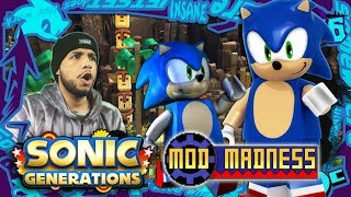 Sonic Generations PC - Lego Sonic in Forces Green Hill! (4K 60FPS) Mod Madness!