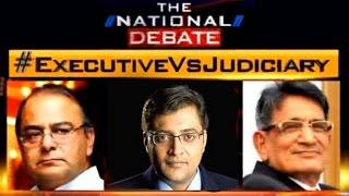 NJAC Debate with Arnab Goswami   Legislature Vs Judiciary   Arun Jaitley Vs Justice R M Lodha - Full