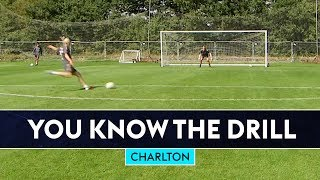 Can Bullard and Bowyer beat the Charlton players?   You Know The Drill   Charlton Athletic