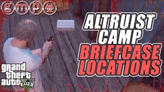 Altruist Camp Side Mission / Briefcase Locations 4 x $25,000 | GTA V (5) GUIDE
