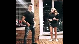 Cameron Boyce dancing 😍part 2 ft. Sophie Reynolds