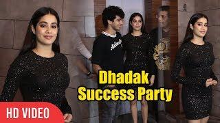 Gorgeous+Jhanvi+Kapoor+With+Ishaan+Khattar+At+Dhadak+Success+Party+%7C+Viralbollywood