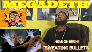 FIRST TIME LISTENING | Megadeth - Sweating Bullets (Official Music Video) -REACTION
