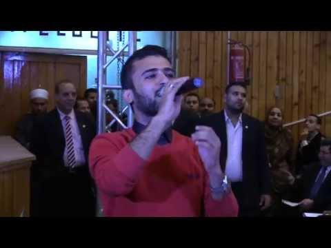 مواهب جامعة سوهاج فى القوافل التنويرية الانشاد الديني والطالب محمد صفوت