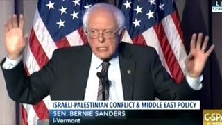"""Sanders """"A Future In Which Israel Controls Entire Territory Between Mediterranean And Jordan River!"""""""