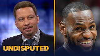 Chris Broussard reacts to LeBron James joining the Los Angeles Lakers | NBA | UNDISPUTED
