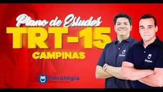 Concurso TRT 15 Campinas | Plano de Estudos