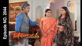 Manasu Mamata   10th August 2017  Full Episode No 2044  ETV Telugu