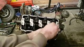 Suzuki carry Part2 F10A turbo, old engine opening