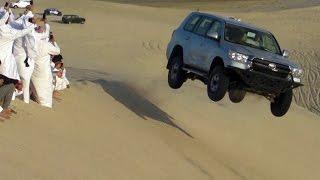 Sand Dune Jumping in Qatar - تطعيس + تطير في العديد 29/02/2016