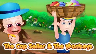 The Cap Seller and The Monkeys Story | Stories For Children | Moral Story For Kids | TinyDreams