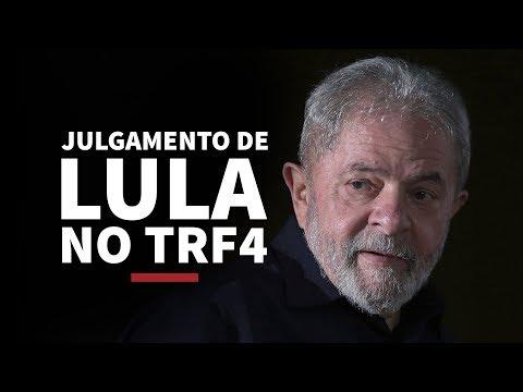 Julgamento de Lula no TRF4 - 24/01/18